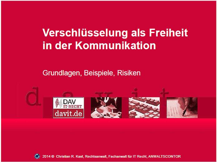Vortrag DAT 2014